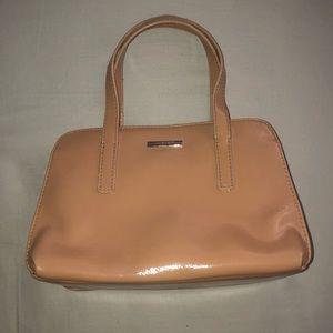 Nude Leather Nine West Minibag